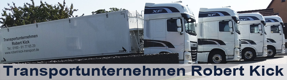 Transportunternehmen Robert Kick